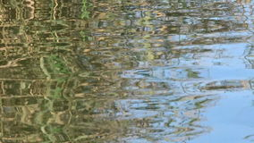 Water reflection background stock video footage