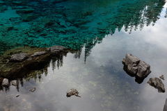 Water reflection - Close up Royalty Free Stock Images