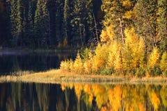 Water reflection at Jade Lake Stock Photography
