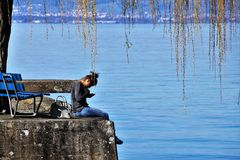 Water, Reflection, Nature, Body Of Water royalty free stock photo