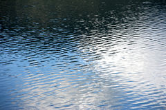 Water reflection texture Royalty Free Stock Photography