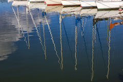 Water reflections. Stock Photography