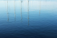Water reflections Royalty Free Stock Images