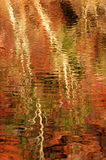 Water Reflections. Reflections in pool at Hamersley Gorge Royalty Free Stock Photography