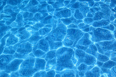 Water Reflections in the Pool Royalty Free Stock Photos