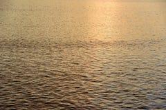 Water reflection sunset Stock Photos