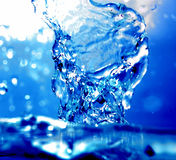 Water refreshing royalty free stock photos