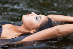 Water relax Royalty Free Stock Photography