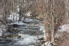 Water reproductie-Meltoff van Ijs & Sneeuw Royalty-vrije Stock Foto's