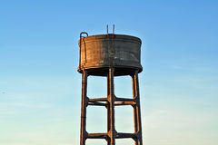 Water reservoir. An old fashioned water reservoir royalty free stock photography