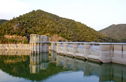Water Reservoir Stock Photography