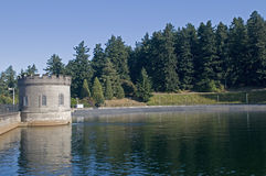 Water reservoir Royalty Free Stock Photography