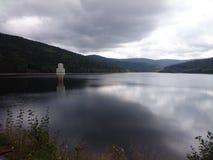 Water reservoir in Frauenau Stock Photos