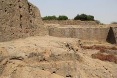 Water reservoir of Harappan civilization site Stock Images