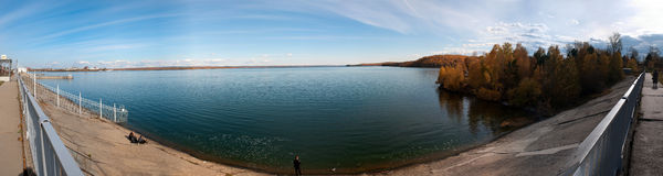 Water reservoir of Irkutsk royalty free stock image