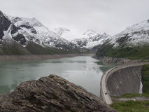 Water reservoir Kaprun Royalty Free Stock Photos