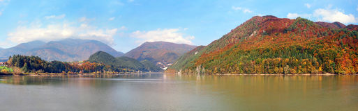 The water reservoir of the Krpelany, Slovakia Royalty Free Stock Photography
