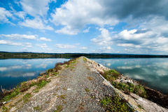 Water reservoir Rozkos Stock Image
