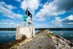 Water reservoir Rozkos Royalty Free Stock Photography
