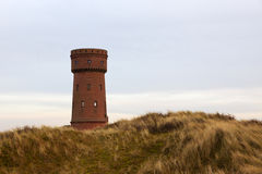 Water reservoir tower, Borkum Royalty Free Stock Photos