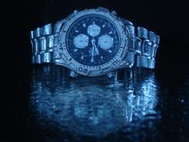 Water resistant watch Royalty Free Stock Photography