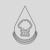 water resource icon design Stock Photos