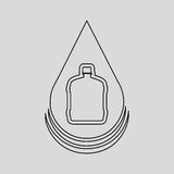 water resource icon design Stock Image