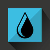 water resource icon design Stock Photography