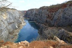 Water Resources, Water, Quarry, Geological Phenomenon royalty free stock photos