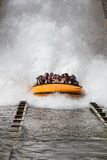 Water ride Stock Image