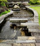 Water Rill. Though the Garden Royalty Free Stock Images