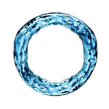 Water ring. Ring of water on white Royalty Free Stock Photos