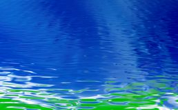 Water ripple. Beautiful bright rippled water background Royalty Free Stock Images