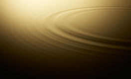 Water ripple. Warm water ripple on evening mood Stock Photography