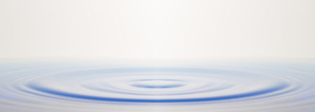 Water ripple. Stock Photography