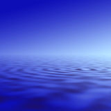Water ripple illustration Royalty Free Stock Images