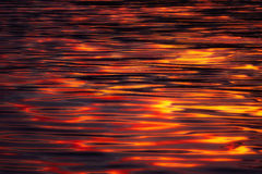 Water ripple textures at sunset Royalty Free Stock Photo