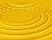 Water ripples. Smoothly 3d Image Of Circular Waves Expanding Stock Image