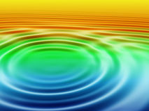 Water ripples stock illustration
