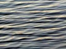 Water ripples in blue. Water ripples details  in a river Royalty Free Stock Images