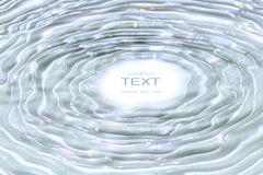 Free Water Ripples In Sparkling Water Royalty Free Stock Photography - 5449657