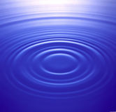 Water ripples Stock Image