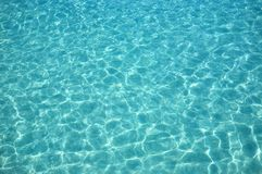 Water ripples in the sunny day. Nice blue water ripples in the sunny day Royalty Free Stock Photo