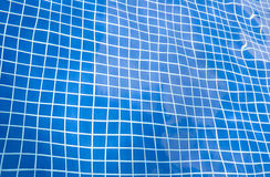 Water ripple in the swimming pool. Water ripples in the swimming pool. Able to use as background Stock Images