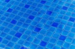 Water ripples of swimming pool Stock Photography