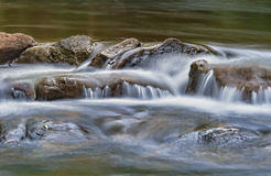 Water on rocks Stock Photo