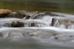 Water on rocks Stock Photography