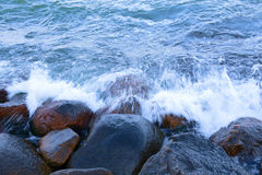 Water and rocks Stock Photography