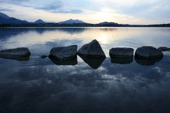 Water Rocks Royalty Free Stock Photography
