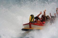 water roller coaster  Royalty Free Stock Photos